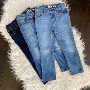 Oshkosh B'Gosh Boys Skinny Jeans - 3 Pairs